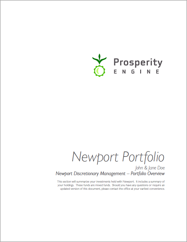 Investment Sample Newpoert