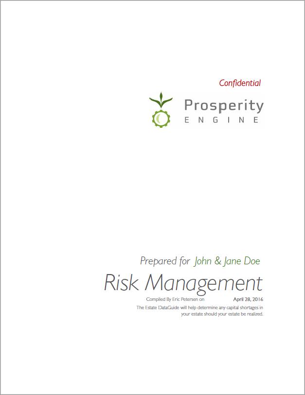 Risk Management Title Page